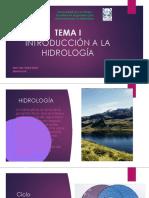 3-Introducción a La Hidrología
