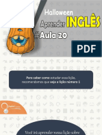 ● Aprender Inglês Com Halloween Aula 20 | English Channel PDF ✔