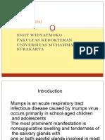 - Mumps (Parotitis)