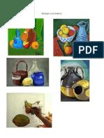 Bodegón a La Tempera, Tecnicas Para Pintar Al Crayón de Madera, Tecnicas de Aplicación de Los Pasteles Oleosos y Normas, Tenicas Par Aplicar Colores Oleo Pastel.