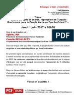 "Café Politique ""Égalité !"" jeudi 1er juin 2017"