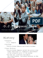 forensic science-o j  simpson case