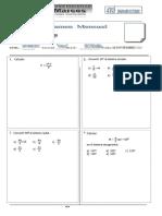 Examen Mensual 1er Bimestre Trigonometria Einstein