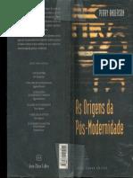 Perry Anderson - As origens da pós-modernidade.pdf