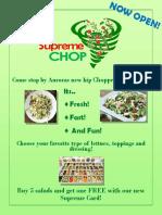 supreme chop poster