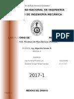 Informe Mediciones UNI