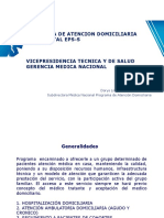 Capacitacion Programa de Atencion Domiciliaria