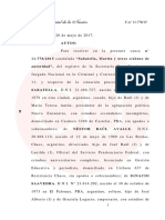 Procesan a Sabbatella por pretender adecuar de oficio al Grupo Clarín