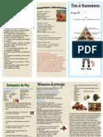 """Dieta Mantenimiento para Grupo sanguíneo """"A""""  PDF"""