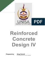 UNISA Reinforced Concrete Design Study Guide