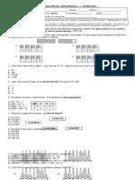 eval matematica 5° NUMEROS
