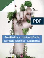 Equipo Mayumi Ampliación y Construcción de Carretera Morelia – Salamanca