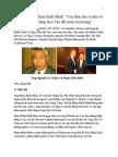 Trúc Giang MN - Thất vọng về Phạm Bình Minh