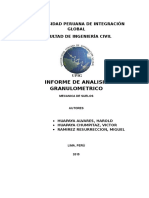 Informe de Granulomtria