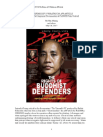In Defense of U Wirathu on AFP Article