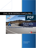 Civil 3d_google Earth Pro Civil 3d & Google Earth Pro Aplicado Al Diseño Geométrico de Carreteras