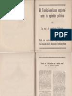El Tradicionalismo Español Su Ideario Su Historia Parte 2 1