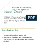 Did Prehistoric and Roman Mining and Metallurgy Have