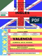 Curso Ingles Oficial Valenciano Capacitacion