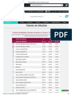 Tabela de Medida - Maximus Tecidos _ Loja Online