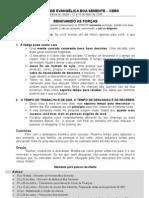 35ª RENOVANDO AS FORÇAS 12A18MAI