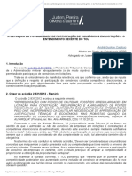 A DEFINIÇÃO DA POSSIBILIDADE DE PARTICI...ITAÇÕES- O ENTENDIMENTO RECENTE DO TCU