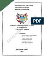 Catalogo Rubrica Grupo 03