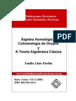 K Teoría Algebraica