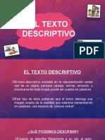 Diapositivas Del Texto Descriptivo