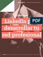 LinkedIn para desarrollar tu red profesional.pdf