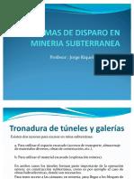 Diagramas de Disparo en Minería Subterránea
