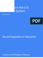 racial and income disparities in the u s  education system