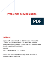 Problemas de Modulacion