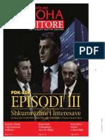 Koha Ditore Frontpage, 14-05-2017