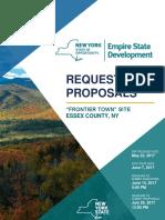 5222017 Frontier Town RFP