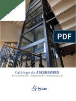 Catalogo Tecnico Ascensores