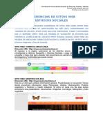 Sugerencias de Sitios Web Estudios Sociales 2