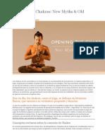 Opening the Chakras