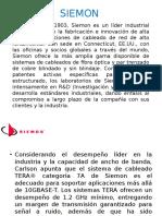 SIEMON CARACTERÍSTICAS DE MATERIALES