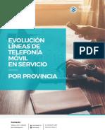 Evolución de Telefonía Celular