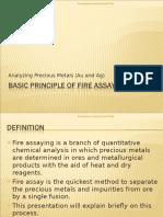 Basic Principle of Fire Assay