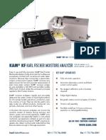 Kam Kf Karl Fischer Moisture Analyzer Product Literature