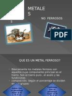 Metales Ferrosos y No Ferrosos
