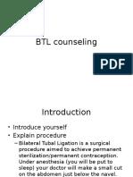 BTL Counseling