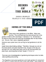 Herbs of the Bible-frawley
