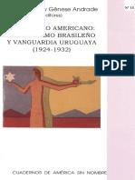 ROCCA PABLO y ANDRADE Un Diálogo Americano Modernismo Brasileño y Vanguardia Uruguaya
