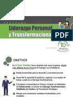 Liderazgo Personal y Transformacional - Pedregal