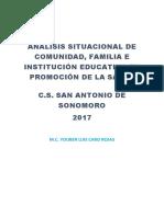 Análisis Situacional en Salud Promsa