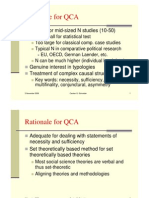 Introduction to QCA, Carsten Schneider