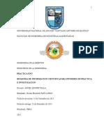 Primer Informe - Principios